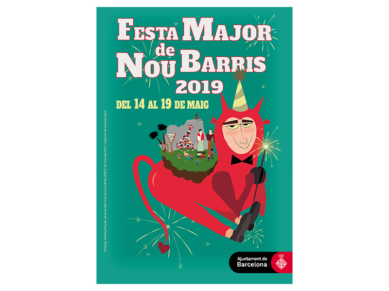 ¡Viva la Fiesta Mayor de Nou Barris!
